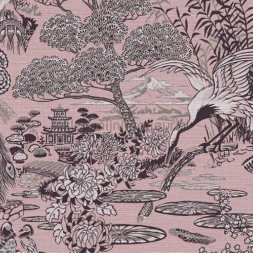 Lotus carta da parati 13501 Curiosa Arte