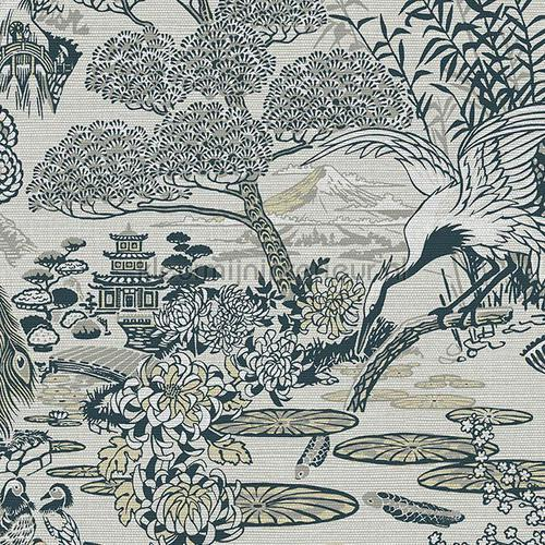 Lotus carta da parati 13502 Curiosa Arte