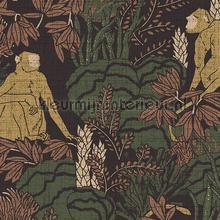 Langur papel pintado Arte Curiosa 13530