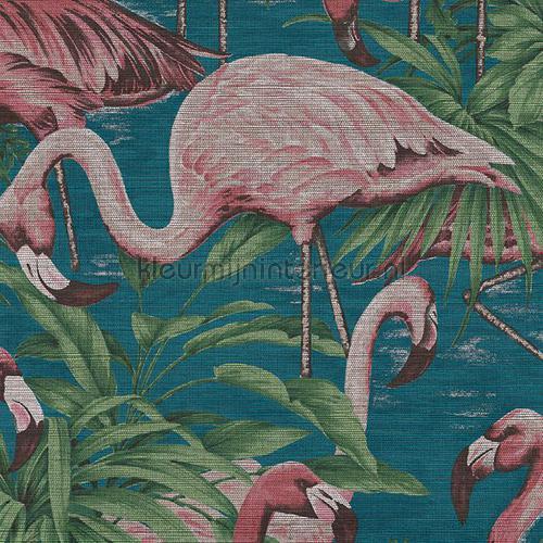 Flamingo papel de parede 31541 Curiosa Arte