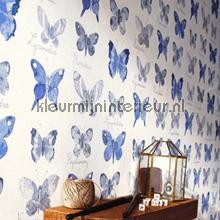 papel pintado Mariposas - Pájaros