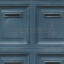 Brievenbus panelen papel de parede AS Creation madeira