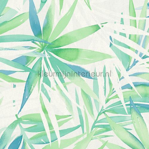 Groot tropische bladmotief behang 341251 aanbieding behang AS Creation