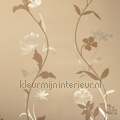 Metal flowercurves beige tapet Rodeka Diamond GPW-DA-025
