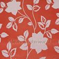 Mystic glitter flowers oranjerood tapet Rodeka Diamond GPW-DF-007