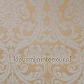 Barokstyle velours beige tapet Rodeka Diamond GPW-DF-010