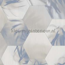 Edward van Vliet hexagon palms tapet BN Wallcoverings Dimensions 219573