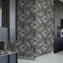 Edward van Vliet hexagon palms tapet BN Wallcoverings Dimensions 219574