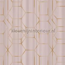 Edward van Vliet faded lines and hexagons tapet BN Wallcoverings Dimensions 219601