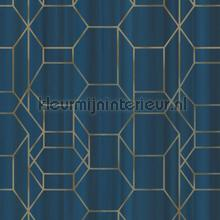 Edward van Vliet faded lines and hexagons tapet BN Wallcoverings Dimensions 219602