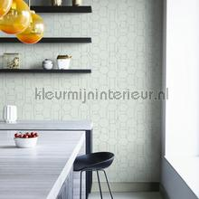 Edward van Vliet faded lines and hexagons tapet BN Wallcoverings Dimensions 219604