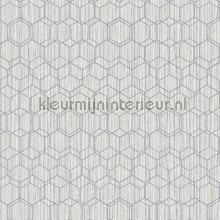 Edward van Vliet woven hexagons tapet BN Wallcoverings Dimensions 219622