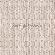 Edward van Vliet woven hexagons tapet BN Wallcoverings Dimensions 219625