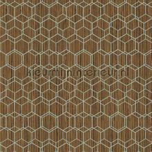 Edward van Vliet woven hexagons tapet BN Wallcoverings Dimensions 219626
