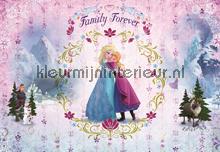 Frozen family forever fotobehang Komar Disney-kids 8-479