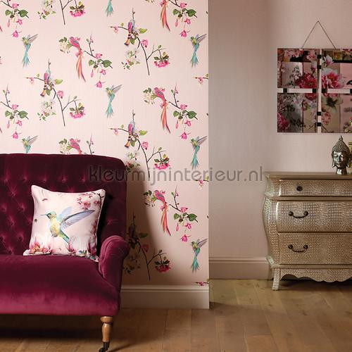 kotori blush pink papel pintado 293104 niñas Arthouse