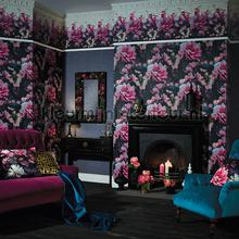 momoka rose pink wallcovering Arthouse Eastern Alchemy 293109