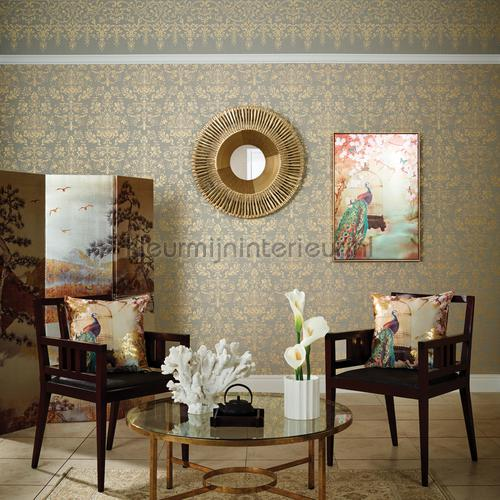 kyasha frieze border gold wallcovering 293207 baroque Arthouse