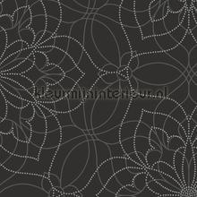Liniare bloemen Venus papier peint Dutch Wallcoverings Eclipse FD23846