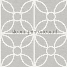 Grafische tegel Savvy wallcovering Dutch Wallcoverings Eclipse FD23858