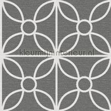 Grafische tegel Savvy behang Dutch Wallcoverings Grafisch Abstract