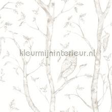 Hoge bomen met uilen wallcovering Dutch Wallcoverings Eclipse FD23862