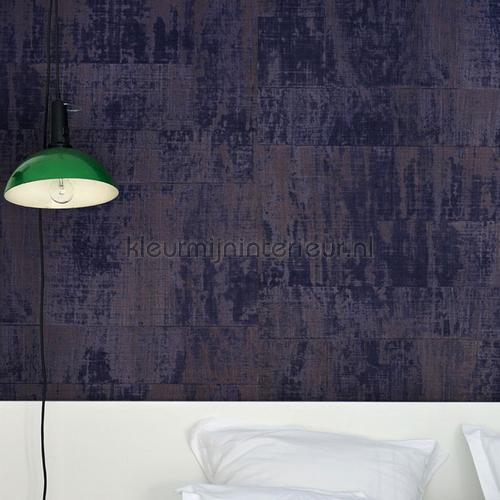 Atelier d Artiste donkerpaars wallcovering VP 880 13 Eldorado Elitis