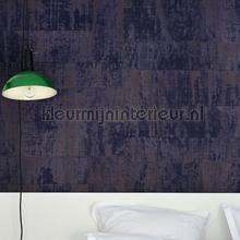 Atelier d Artiste donkerpaars papel de parede Elitis Eldorado VP-880-13