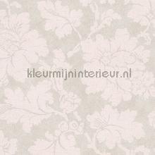 Grote bloem zacht grijs en rose tapet AS Creation Elegance 3 305194