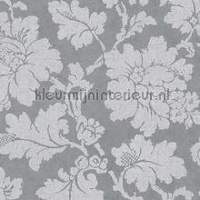 Grote bloem grijs tapet AS Creation Elegance 3 305195