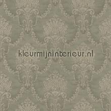 Floral bouquet damask gris-beige behang Rasch Elegance and Tradition VI 514995