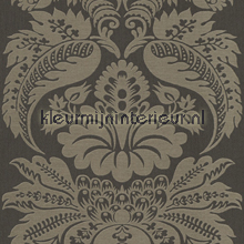 Large damask antracite papel de parede Rasch Elegance and Tradition VI 515213