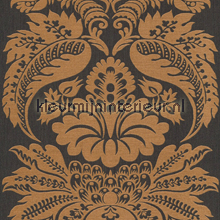 Large damask copper papel de parede Rasch Elegance and Tradition VI 515220