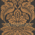 Large damask copper Elegance and Tradition VI rasch