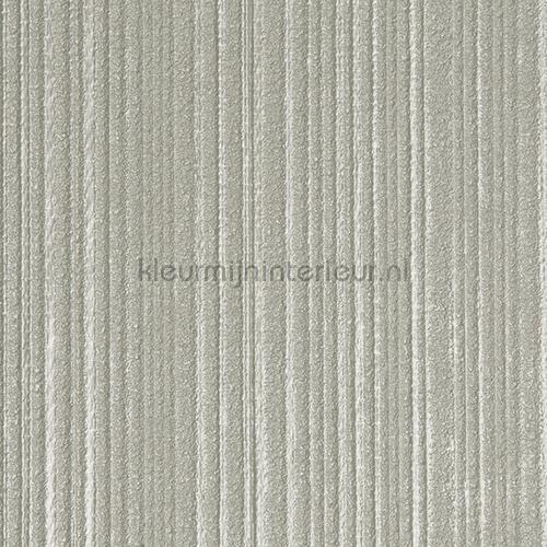 Stratos relief lijnen groenig zilver papel pintado 47109 Elements Arte