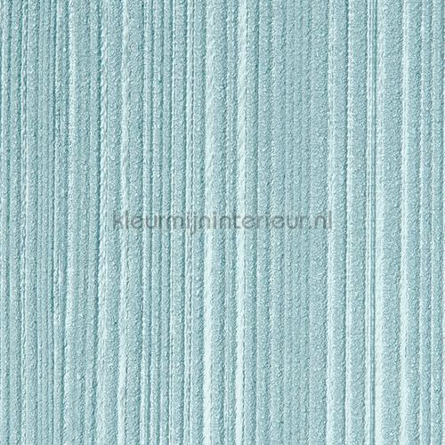 Stratos relief lijnen zacht turquoise papel pintado 47113 Elements Arte