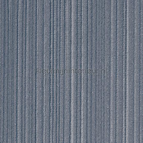 Stratos relief lijnen vergrijsd blauw papel pintado 47114 Elements Arte