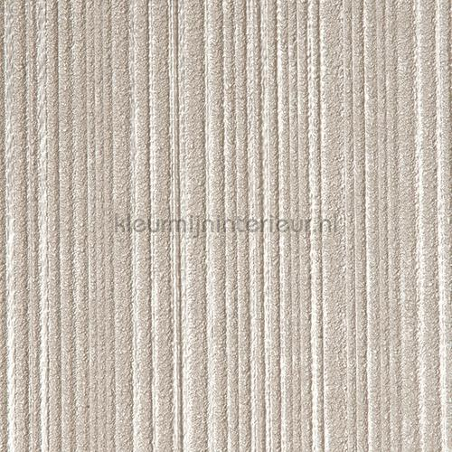 Stratos relief lijnen zacht bruin papel pintado 47116 Elements Arte