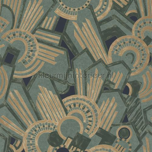 Atmos celedon 73910220 papier peint Ellington Casamance ...