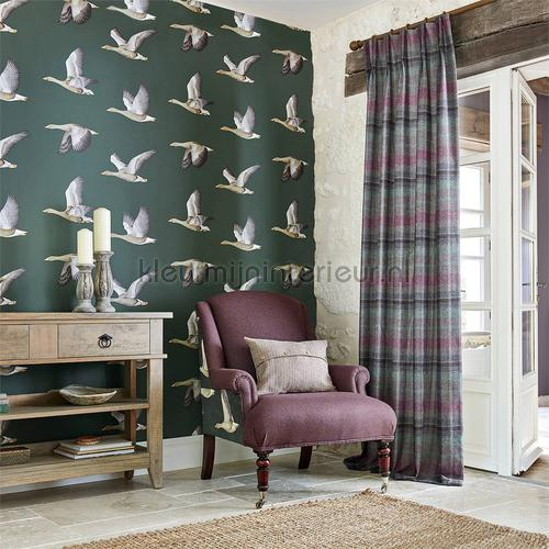 elysian geese tapet 216608 Cottage Sanderson