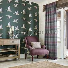 Elysian geese wallcovering Sanderson Vintage- Old wallpaper