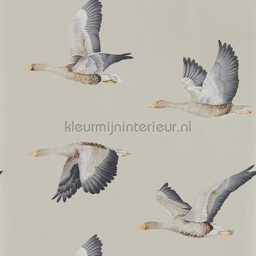 elysian geese tapet 216611 Cottage Sanderson