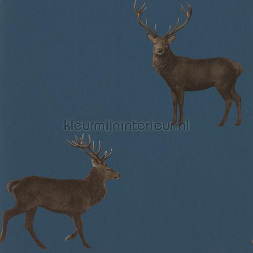 evesham deer carta da parati 216620 Cottage Sanderson
