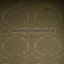 Charm 3D ornament donkerbeige tapet Arte Enigma 30510