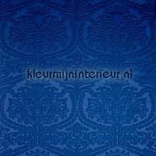Charm 3D ornament blauw tapet Arte Enigma 30512