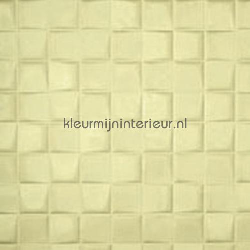Select 3D blok suedelook creme behang 30520 Enigma Arte