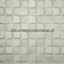 Select 3D blok suedelook warm grijs behang 30524 Enigma Arte