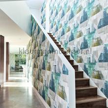 Geodesic Emerald-Linden tapeten Harlequin Tapeten raumbilder