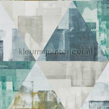 Geodesic Emerald-Linden tapet Harlequin Entity 111700