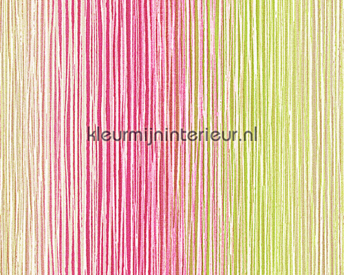 Color variabila pink-green papel de parede 94147-1 sale wallcovering AS Creation